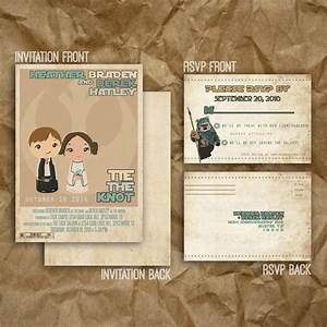 star wars inspired wedding or party invitation printable With star wars wedding invitations etsy