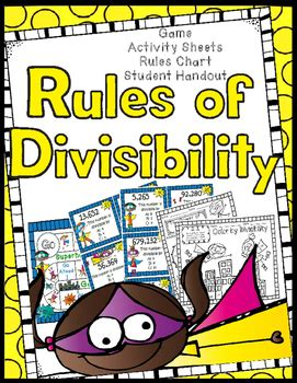 The goal of blitz is to collect three cards of the same suit that add up to 31, or as close as possible to 31 without going over. Divisibility Rules Game, Worksheets, Anchor Chart, Student Helper Handout