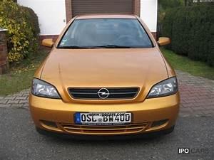 Opel Astra 2001 : 2001 opel astra coupe 1 8 16v car photo and specs ~ Gottalentnigeria.com Avis de Voitures