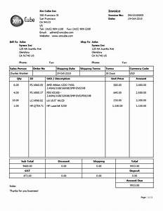 Quotation template invoice template sample invoice for Sample invoice template pdf