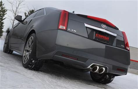 corsa cadillac cts  coupe stainless axle  sport