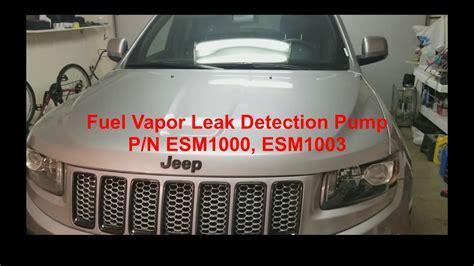 grand cherokee fuel vapor leak detection pump youtube