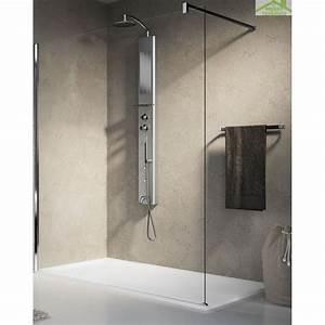 Colonne De Douche En Angle : colonne de douche suspendue hydromassante pour douche ou ~ Edinachiropracticcenter.com Idées de Décoration