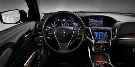 acura tlx interior introducing the well equipped performer the 2017 acura tlx
