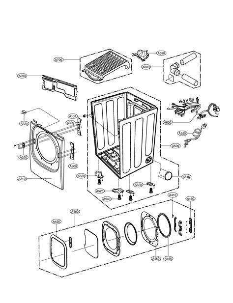 lg dlgxr dryer parts sears partsdirect