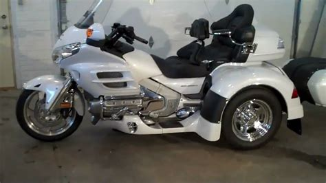 2008 Honda Goldwing Trike With Irs Adventure Conversion
