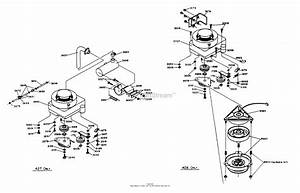 Dixon Ztr 428  1988  Parts Diagram For Engine Assembly
