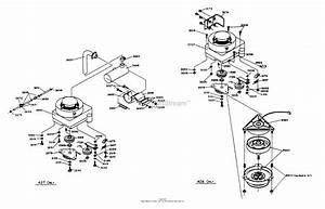 Dixon Ztr 428  1988  Parts Diagram For Engine Assembly