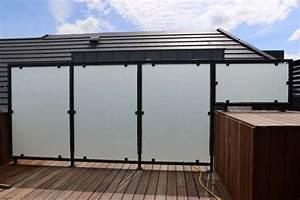 Brise Vue Opaque : brise vue balcon plexiglas acheter canisse exoteck ~ Premium-room.com Idées de Décoration