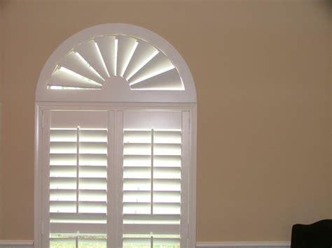 American Blinds Custom Wood Arch