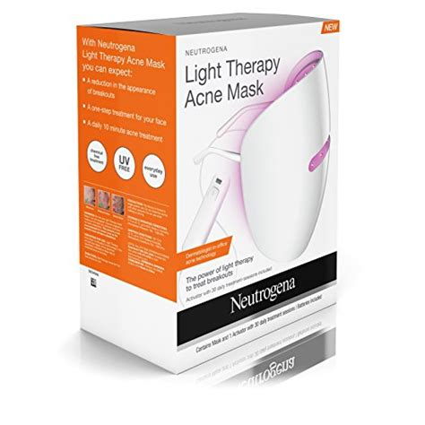 acne light therapy neutrogena light therapy acne treatment mask import it all
