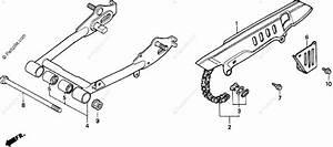 Honda Motorcycle 1999 Oem Parts Diagram For Swingarm