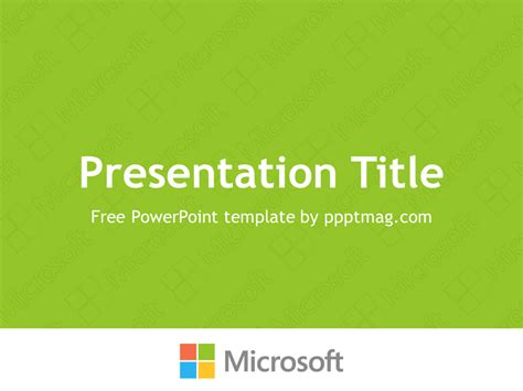 How To Powerpoint Templates From Microsoft by Free Microsoft Powerpoint Template Pptmag