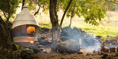 seedpod pop  resort tents  mauritius