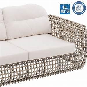 Lounge Sofa 2 Sitzer Outdoor : couch sofa 2 sitzer indoor outdoor sehr robust geflecht alu rahmen canvas ebay ~ Whattoseeinmadrid.com Haus und Dekorationen