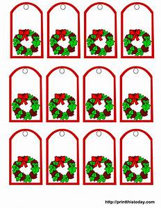 free printable christmas gift tags With how to print on gift tags