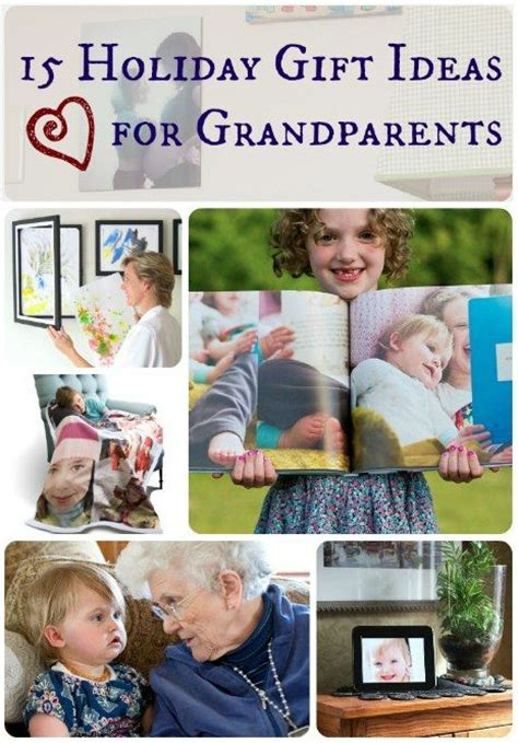 ideas from baby to grandparents for christmas 15 gift ideas for grandparents gifts crafts