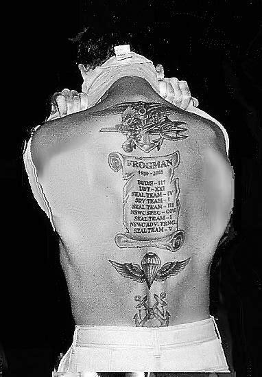 Back Tattoo | Navy seal tattoos