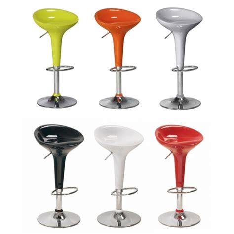 sieges de bar tabouret de bar blanc design florence tooshopping com
