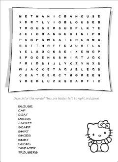 clothes vocabulary  kids learning english spelling game