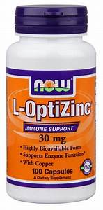 L-opti Zinc Supplement 30 Mg