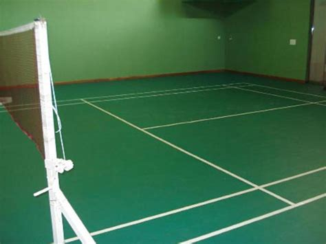 Dimension guidelines for tennis court size for children have been specified by itf. Synthetic Flooring Badminton Court - Costa Sports Systems ...