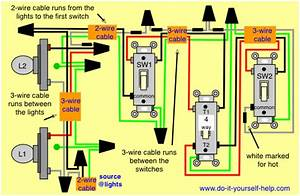 Wiring Diagram 4 Way Switch Multiple Lights  With Images