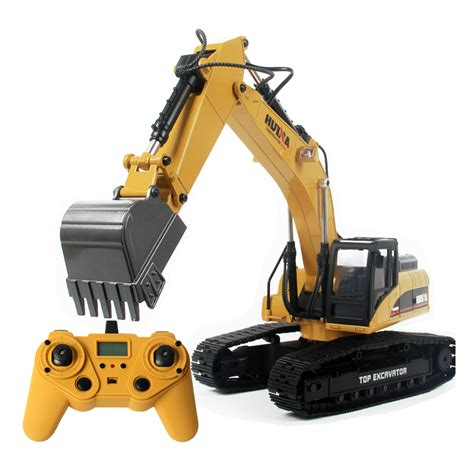 Harga Rc Excavator Huina huina 580 excavator rc car toys styling 23 channel road