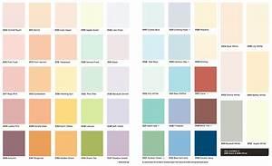 Accent Paint Colour Chart - Home Design