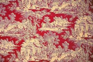 Toile De Jouy : tissus toile de jouy fete champetre ~ Teatrodelosmanantiales.com Idées de Décoration