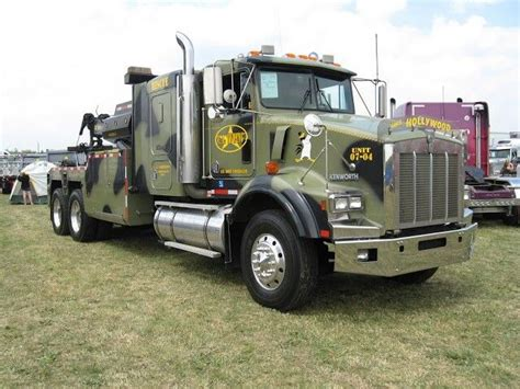 truck wreckers kenworth kenworth wrecker fergus truck show by bucktracks 2007