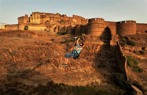 Awesome Adventure Activities Neemrana Fort & Places To Visit