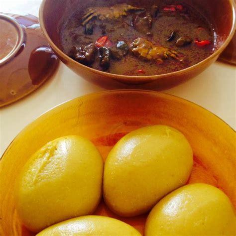riz cuisine foutou banane sauce graines recette de foutou banane