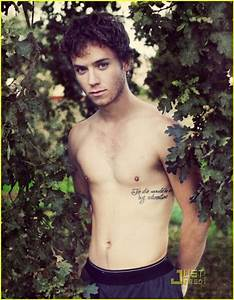 Jeremy Sumpter Heu002639s Got A Peter Pan Quote Tattoo Guys