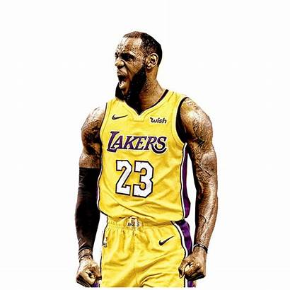 Basketball Drawing Lebron James Dunk Lakers Jersey
