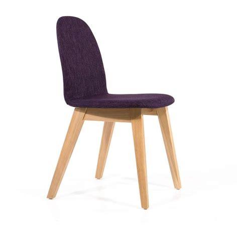 chaise bois scandinave chaise scandinave en bois et tissu puccini mobitec 4