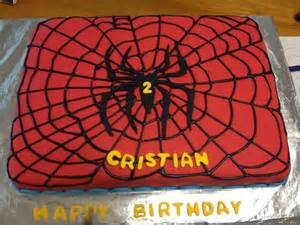 HD wallpapers birthday cake icing spiderman