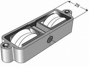 Galet Pour Baie Coulissante : roulette technal baie vitr e coulissante r f 1956 ~ Melissatoandfro.com Idées de Décoration