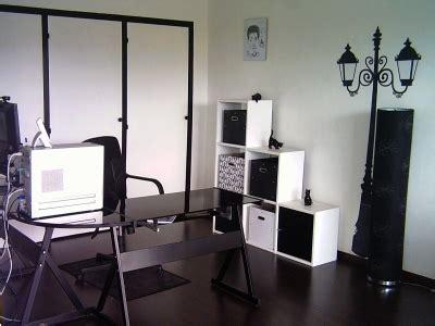photo deco bureau décoration bureau et noir