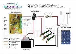 24 Volt Wind Turbine Wiring Diagram