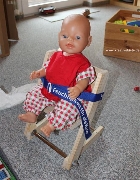 Puppen Hochstuhl