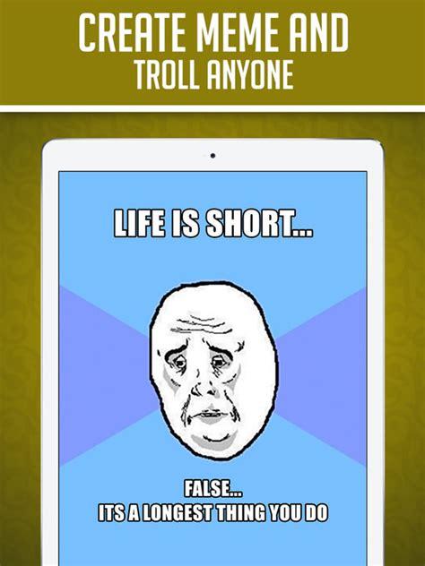 Best Meme Making App - app shopper funny insta meme generator make custom memes with lol pics troll wallpapers gif