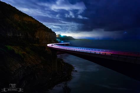 Australia New South Wales Illawarra Sea Cliff Bridge