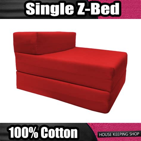 Sleeper Chair Folding Foam Bed Target by About Single Fold Out Block Foam Z Bed Sofabed Guest Chair