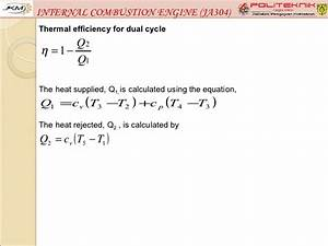 Internal Combustion Engine  Ja304  Chapter 2