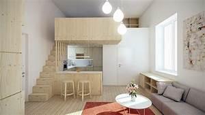 Wohnung Einrichten Software : wie k nnen sie richtig eine 1 zimmer wohnung einrichten innendesign zenideen ~ Orissabook.com Haus und Dekorationen