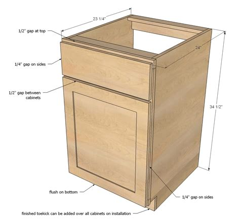 how to build cabinet carcass diy projects face frame base kitchen cabinet carcass