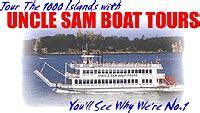 Uncle Sam Boat Tours Singer Castle by Partnerships Singer Castle On Dark Island Usa