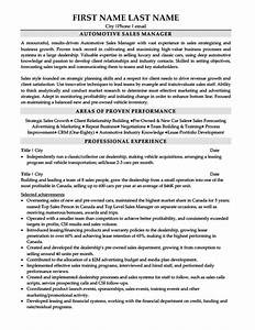 car sales manager resume resume ideas With auto sales resume