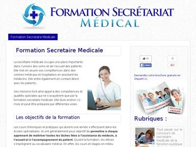 formation secretaire medicale gratuite formation secretaire medicale gratuite et remuneree ile de 28 images quelques liens utiles